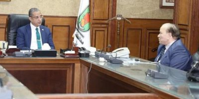 The Governor of Sohag receives Chairman of the Board of Trustees of Merit University