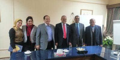Cooperation Protocol between Merit University in Egypt and Jadara University in Jordan.