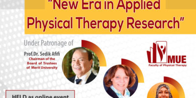 1st Symposium of Physical Therapy Faculty ( New Era in Applied Physical Therapy Research )